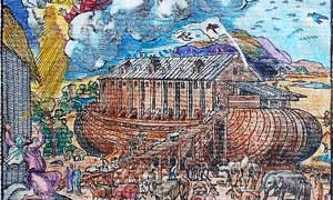 earliest depiction of Noah's Ark