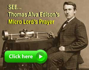 click this link for the most fascinating rare microscopic document from Thomas Alva Edison
