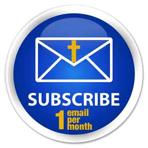 subscribe to my email newsletter once per month