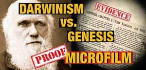 Biblical Genesis rewritten after Darwin