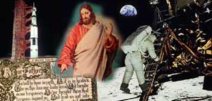Micro Lord's Prayer Put Man on the Moon