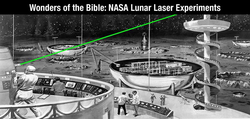 What Biblical Creation information can we derive from the compiled data of the NASA Lunar Laser Experiments?
